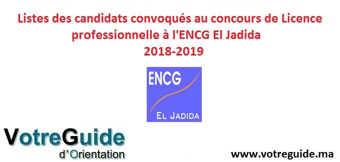 convocation encg 2018